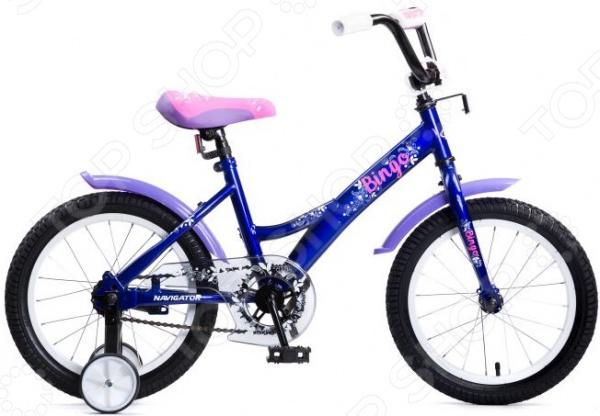 Велосипед детский Navigator Bingo 16 с цветами