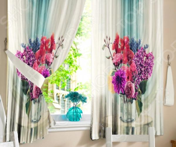 Фотошторы Zlata Korunka «Цветы в вазе»