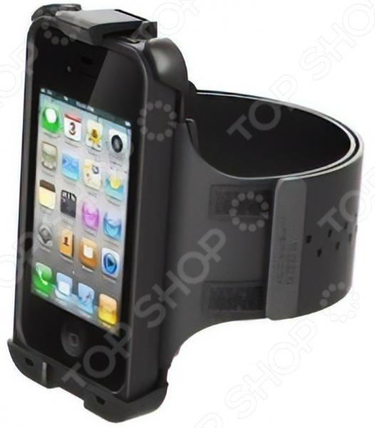 Держатель на руку LifeProof ArmBand trendy sports armband for iphone 4 black