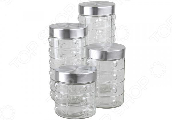 Набор банок для хранения Rosenberg RGL-220015-4