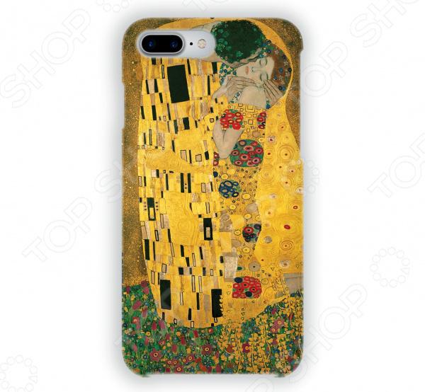 Чехол для iPhone 7 Plus Mitya Veselkov «Поцелуй Климта» часы поцелуй климта mitya veselkov часы поцелуй климта