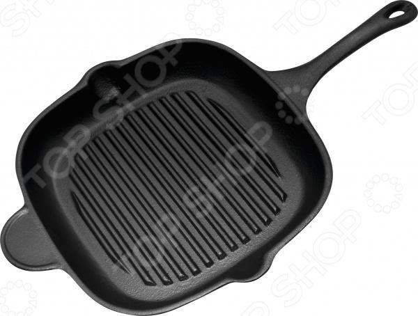Чугунная сковорода-гриль