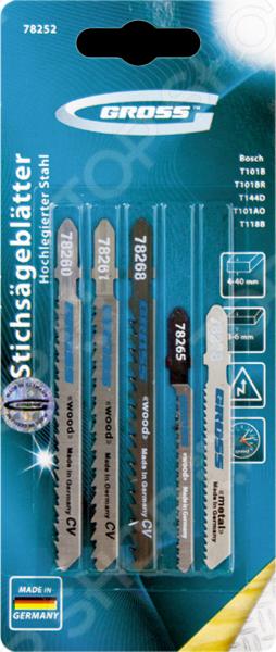 Пилки для электролобзика GROSS 78252 заклепочник усиленный gross 40409