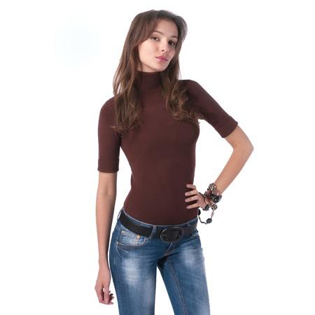 Купить Свитер Mondigo 9003. Цвет: коричневый