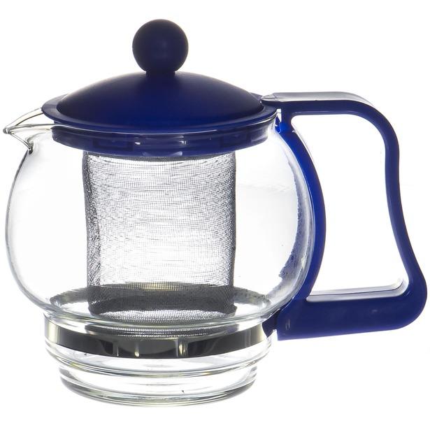фото Чайник заварочный с ситом OlAff DHF-A024. Цвет: синий
