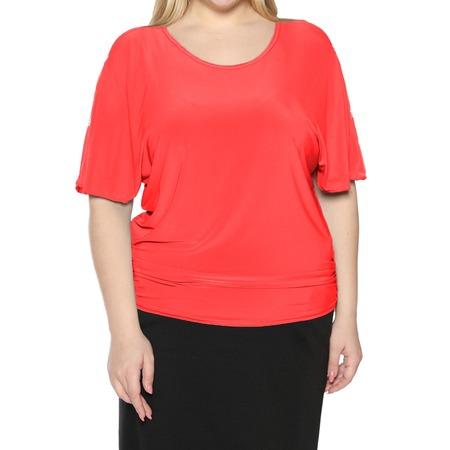 Купить Блуза Pretty Woman «Фруктовый заряд». Цвет: коралловый