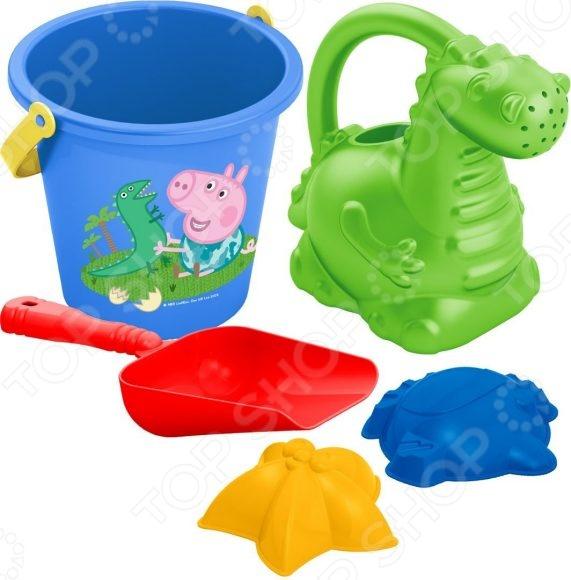 Набор для игры в песочнице Росмэн №3 Peppa Pig в сетке