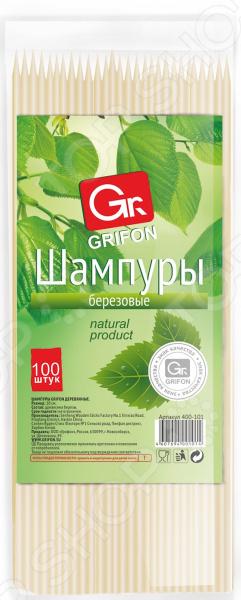 Шампуры деревянные GRIFON 400-101 grifon style матрас ортопедический grifon style прима амальфи 160x90 арт gsr 8011