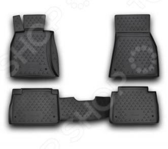 Комплект ковриков в салон автомобиля Novline-Autofamily Lexus LS 460 2006 комплект ковриков в салон автомобиля novline autofamily cadillac escalade 2006 6 цвет черный