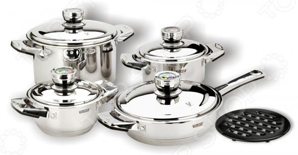 Набор кухонной посуды Vitesse Denise шампунь denise