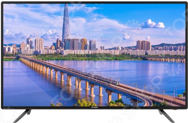 Телевизор Hyundai H-LED50F406BS2 hyundai h led50f406bs2 led телевизор