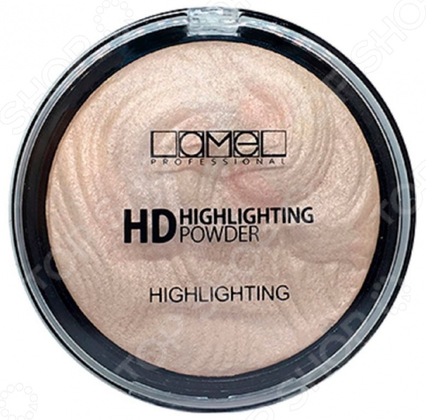 Хайлайтер для лица Lamel professional HD Highlighting Powder хайлайтер catrice highlighting powder 015 цвет 015 merry cherry blossom variant hex name e7a5ab