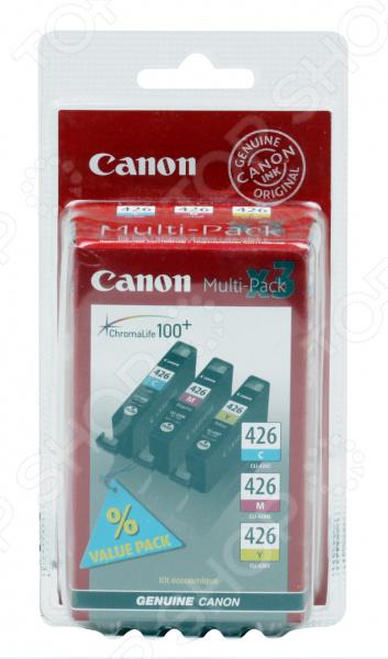Картридж Canon CLI-426 C/M/Y картридж для принтера canon cli 426 серый