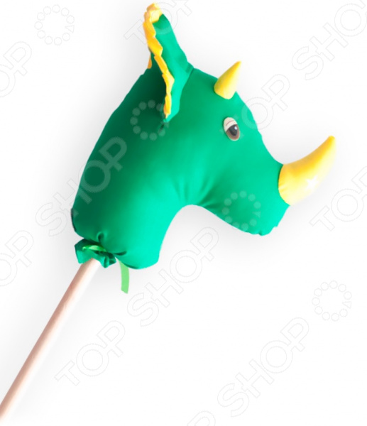 Палка-скакалка Коняша «Динозавр Гоша» скакалка скоростная proxima crossfit jr 7001 r red
