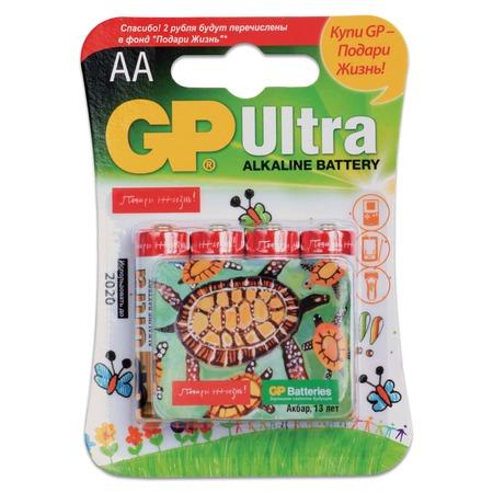 Элемент питания GP Batteries 15AUGL-2CR4 «Подари жизнь»