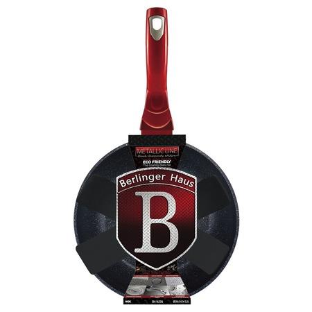 Купить Сковорода вок Berlinger Haus Black-burgundy Metallic