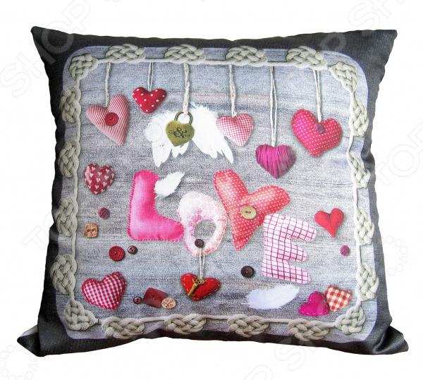 Подушка декоративная Gift'n'Home «Сердечки любви»