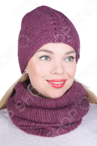 Комплект шапка и снуд DAFFY world «Элла»