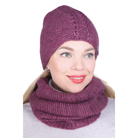 Купить Комплект шапка и снуд DAFFY world «Элла»