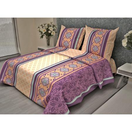 Купить Комплект постельного белья Фиорелли «Сиреневый калейдоскоп». 1,5-спальный