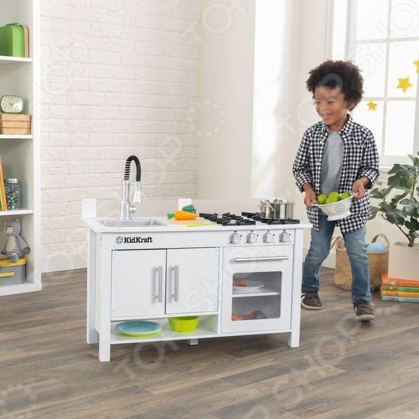 Кухня детская KidKraft «Маленький Повар» kidkraft большая детская игровая кухня делюкс