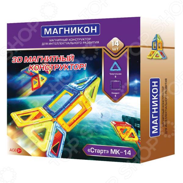 Конструктор магнитный Магникон МК-14