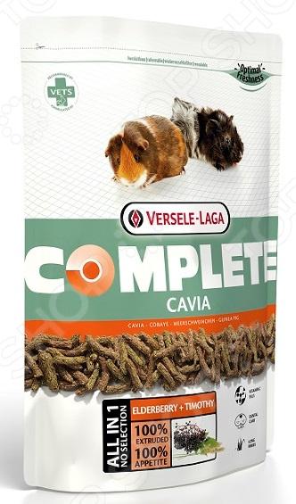 Корм для морских свинок Versele-Laga Complete Cavia корм tetra tetramin xl flakes complete food for larger tropical fish крупные хлопья для больших тропических рыб 10л 769946