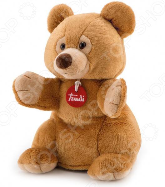 Мягкая игрушка на руку Trudi «Бурый мишка» мягкие игрушки trudi лайка маркус 34 см