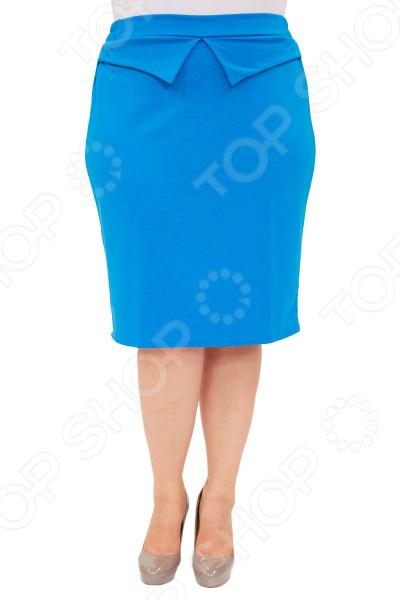 Юбка Матекс «Трина». Цвет: голубой