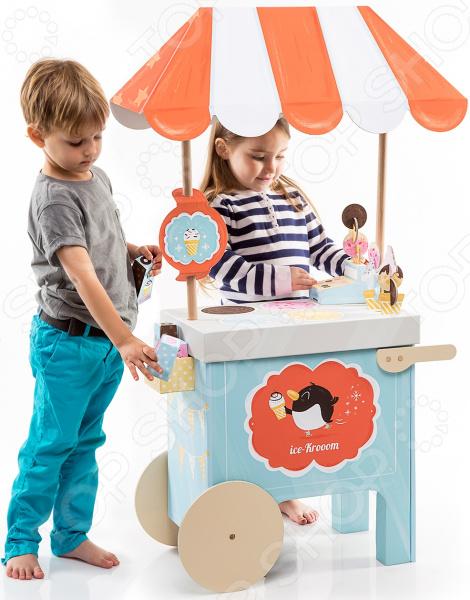 Игровой набор Krooom «Тележка с мороженым»