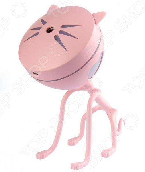 Ароматизатор-увлажнитель воздуха Bradex «Котик» Ароматизатор-увлажнитель воздуха Bradex SU 0110 /Розовый
