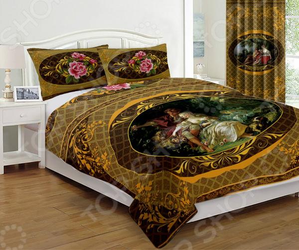 Комплект постельного белья «Импрессио мокко». Евро