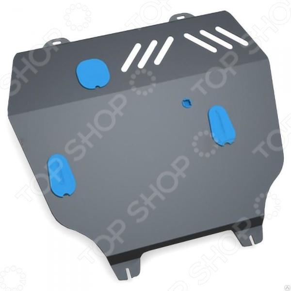Комплект: защита картера и крепеж NLZ Chery Tiggo (T21) 2014: 2,0 бензин АКПП/МКПП