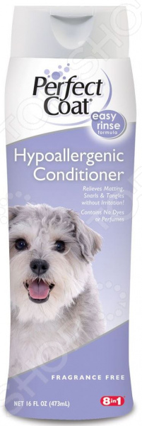 Кондиционер-ополаскиватель для собак 8 in 1 Hypoallergenic Conditioner