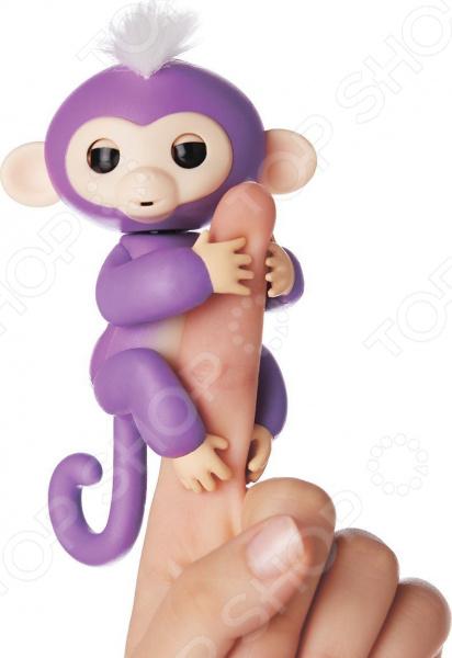 Игрушка интерактивная Fingerlings «Обезьянка Миа» игрушка интерактивная 31 век обезьянка f 003b р