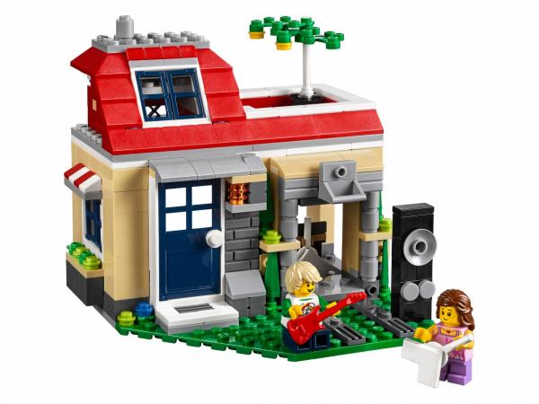 Конструктор игровой LEGO Creator «Вечеринка у бассейна» набор зонирования для бассейна