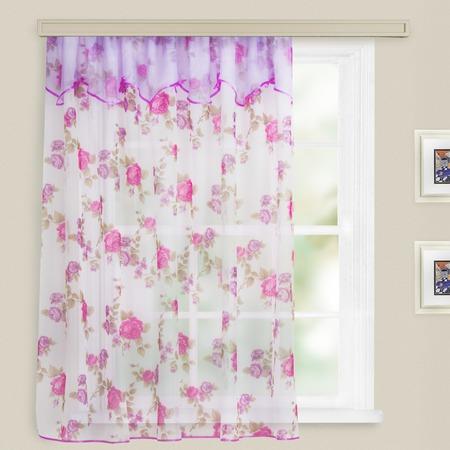 Купить Гардина WITERRA «Юна». Цвет: розовый. В ассортименте