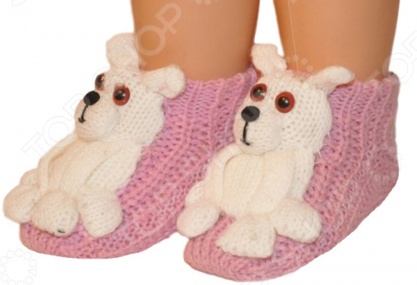 цена на Носки детские с игрушкой HOBBY LINE «Медведь»