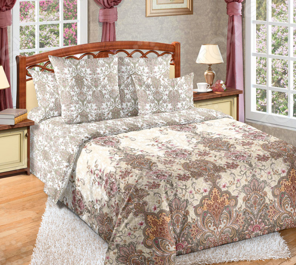 Zakazat.ru: Комплект постельного белья Королевское Искушение с компаньоном «Муза». 2-спальный