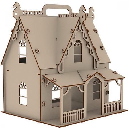 Купить Домик-конструктор для куклы PAREMO «Загородная усадьба»