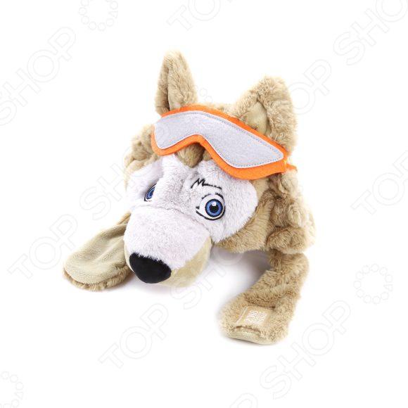 Мягкая игрушка-шапка FIFA 2018 «Волк Забивака» цена