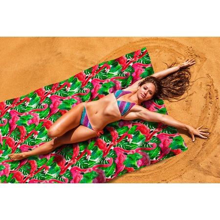 Купить Покрывало пляжное Сирень «Фламинго»