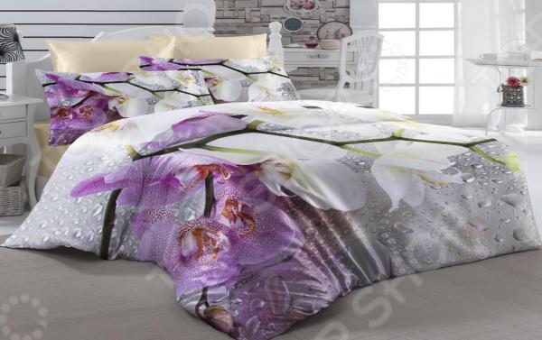 Комплект постельного белья ТамиТекс «Дождь». 1,5-спальный