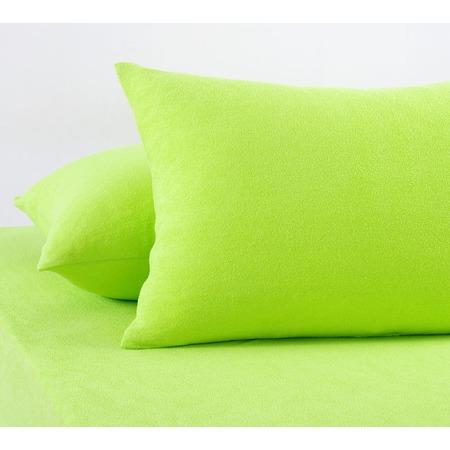 Купить Набор из 2-х наволочек ТексДизайн «Махра». Цвет: салатовый