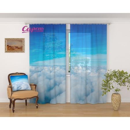 Купить Фототюль Сирень «Над облаками»