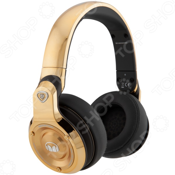 Гарнитура MONSTER 24K DJ Over-Ear охватывающие наушники monster 24k dj over ear headphones