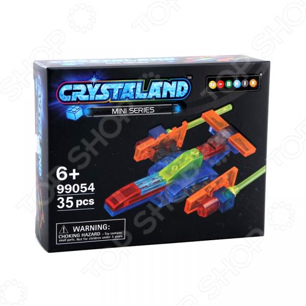 Конструктор для мальчика N-BRIX Crystaland «Звездный корабль» crystaland конструктор истребитель 6 в 1