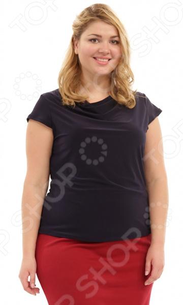 Блуза Лауме-Лайн «Сластена». Цвет: темно-синий блуза лауме стиль заветное признание цвет черный