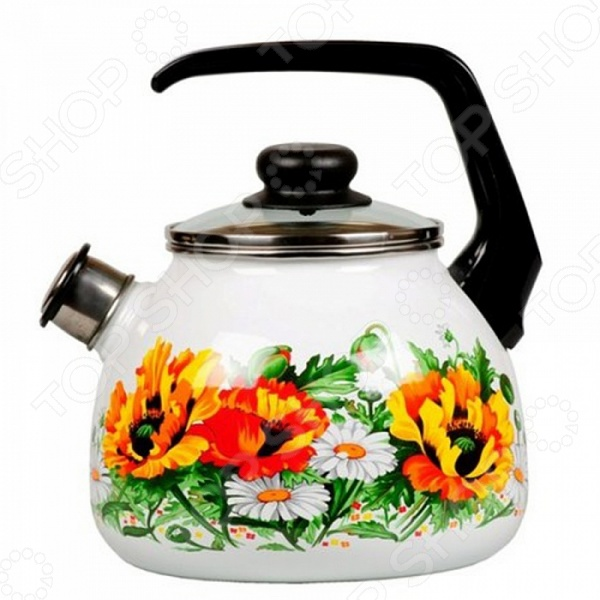 Чайник эмалированный со свистком Vitross Floristeria Vitross - артикул: 904120