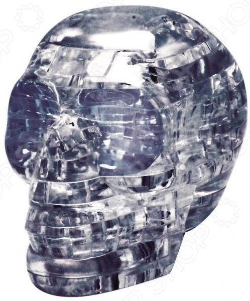 Кристальный пазл 3D Educational Line «Череп» с подсветкой